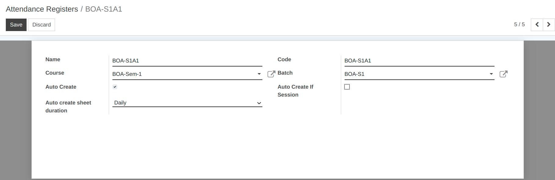 attendance register odoo 9 0 documentation